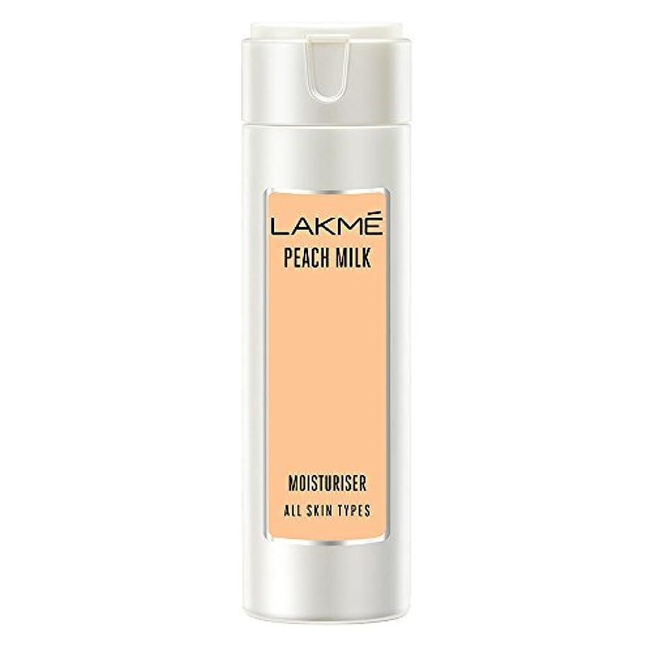 受粉する障害者オークランドLakme Peach Milk Moisturizer Body Lotion, 120ml
