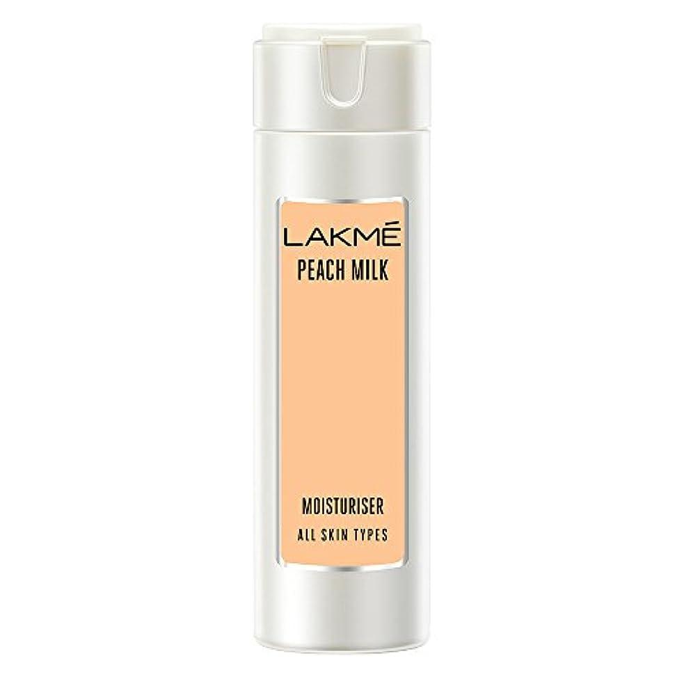 キャストランダム薬局Lakme Peach Milk Moisturizer Body Lotion, 120ml