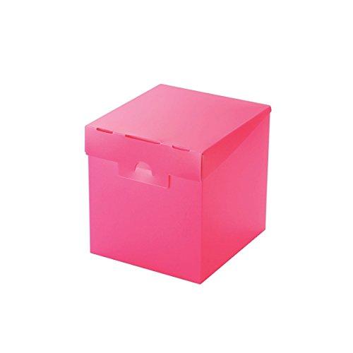 エレコム 組立式メディアケース収納ボックス CCD-MB01PN ピンク