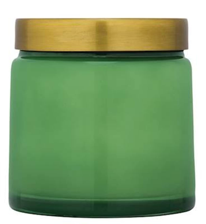 モノグラフバイバイ太鼓腹Aspen Bay竹Lotus Tinted Jar Candle – 17 oz