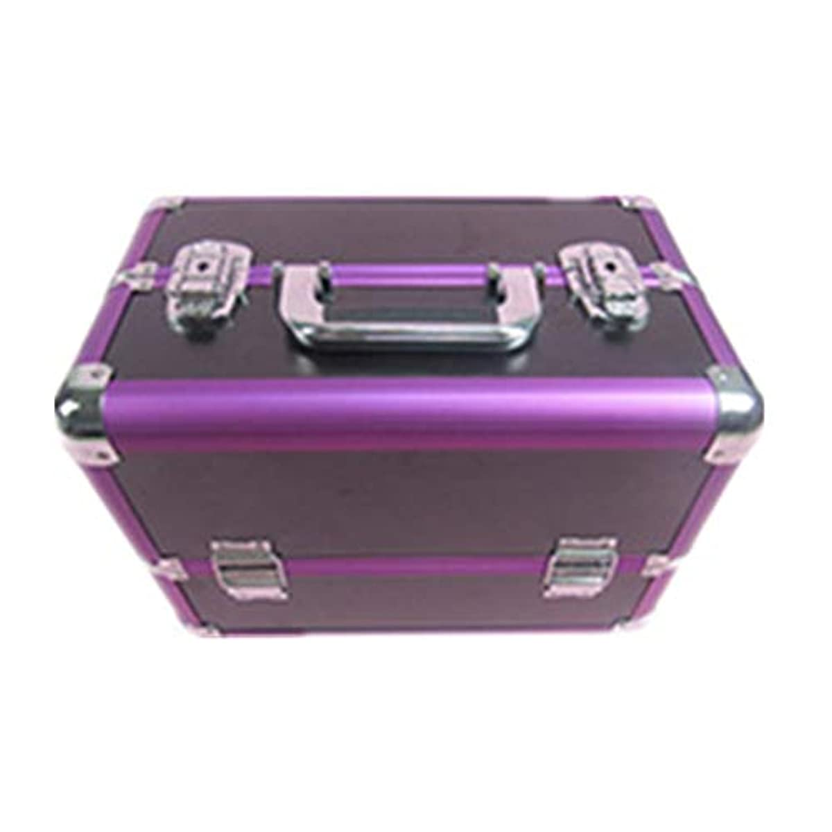 地雷原ワークショップフォーク化粧オーガナイザーバッグ 大容量ポータブル化粧ケース(トラベルアクセサリー用)シャンプーボディウォッシュパーソナルアイテム収納トレイ(エクステンショントレイ付) 化粧品ケース