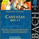 Sacred Cantatas Bwv 1-3
