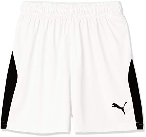[プーマ] サッカーウェア LIGA ゲームパンツ 703635 [ボーイズ] プーマ ホワイト/プーマ ブラック (04) 日本 120 (日本サイズ120 相当)