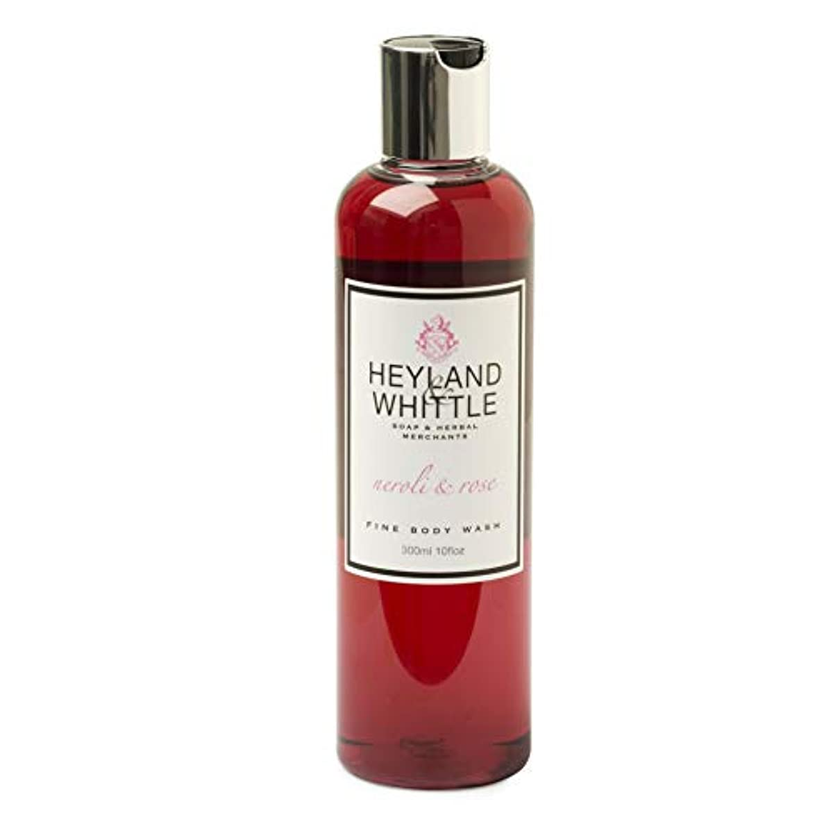 一般的なネット口実Neroli & Rose Body wash by Heyland & Whittle