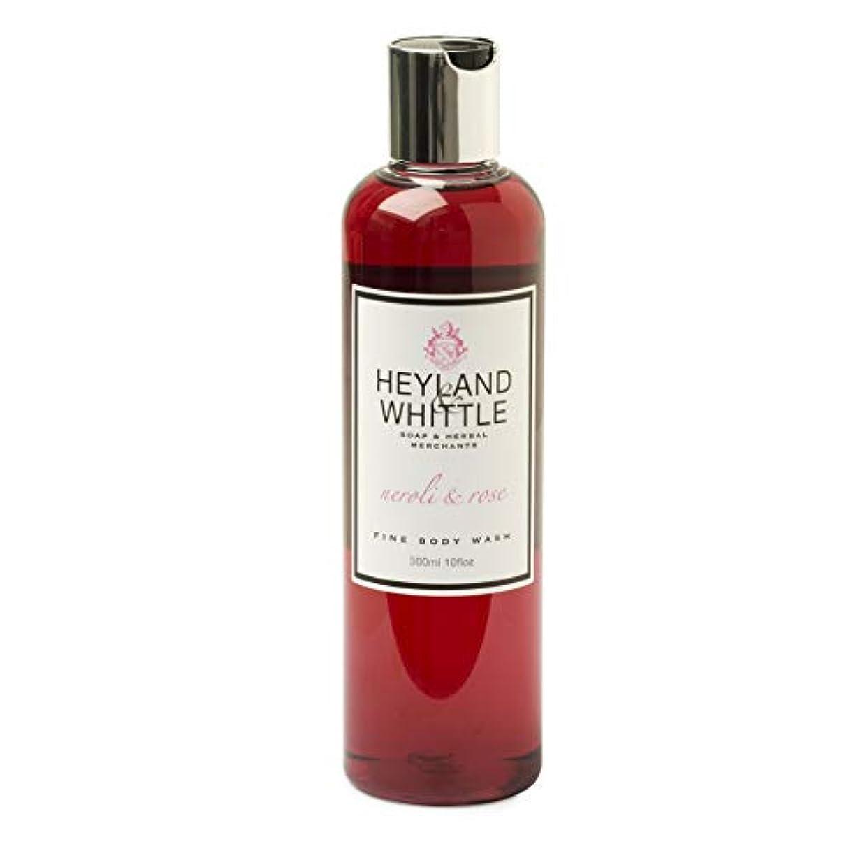廃止するスポークスマン女将Neroli & Rose Body wash by Heyland & Whittle