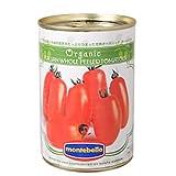 モンテベッロ・有機ホールトマト/400g TOMIZ/cuoca(富澤商店) イタリアンと洋風食材 トマト