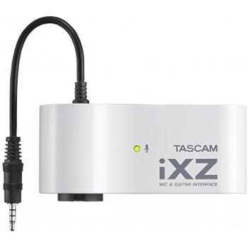 TASCAM マイク ギターインターフェース iPad iPhone iPod touch用 iXZ