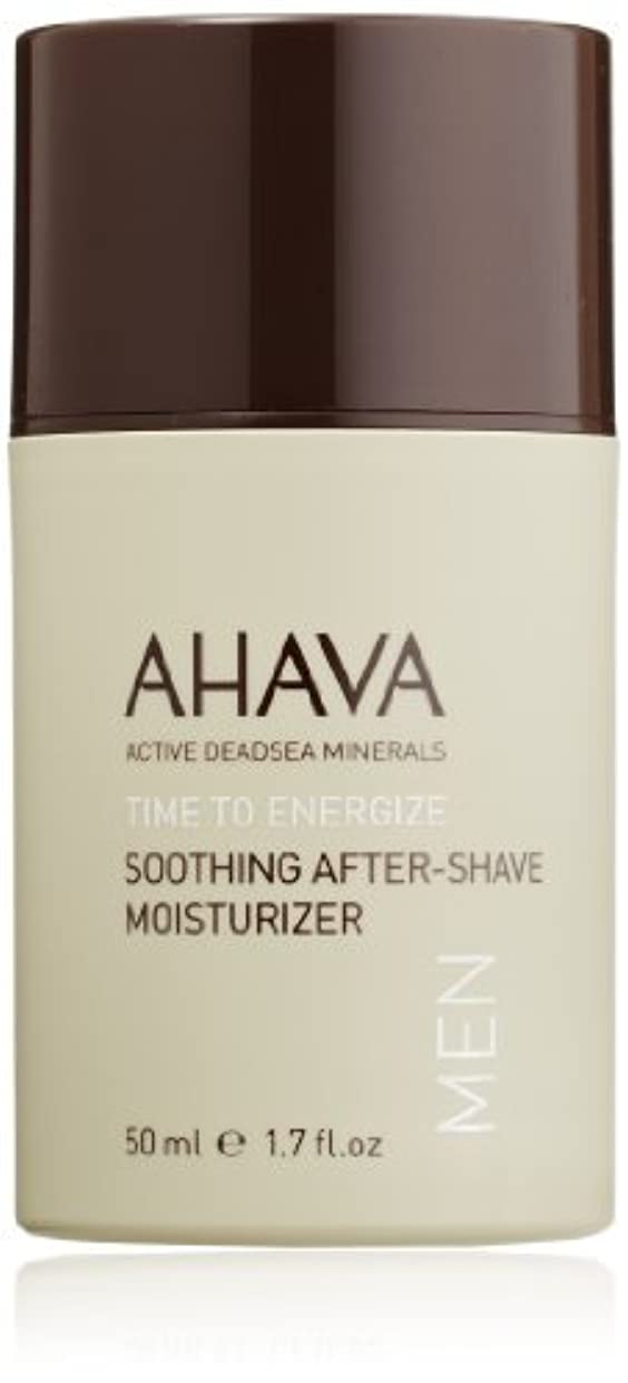 不規則性酔うキルトAHAVA Time to Energize Soothing After-Shave Moisturizer for Men 1.7 fl. oz. [並行輸入品]