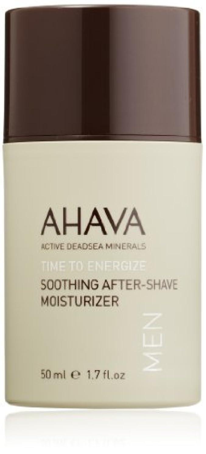 歴史家農業ずらすAHAVA Time to Energize Soothing After-Shave Moisturizer for Men 1.7 fl. oz. [並行輸入品]