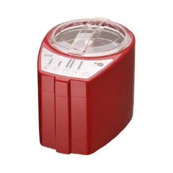 山本電気 MICHIBA KITCHEN PRODUCT RICE CLEANER 匠味米 Modern Red MB-RC23R