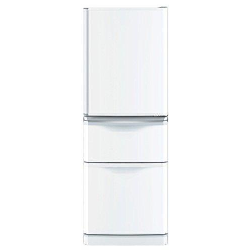 三菱 3ドア冷蔵庫 「Cシリーズ」(335L) パールホワイト MR-C34Z-W