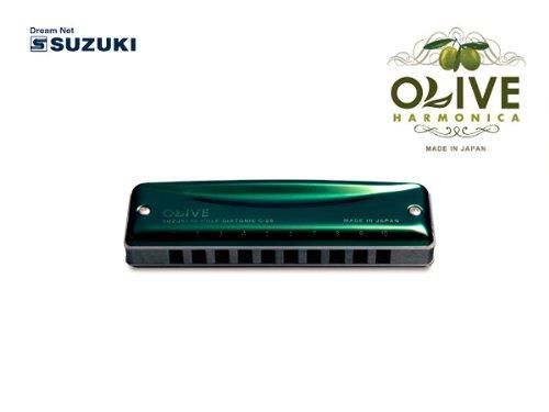 SUZUKI C-20 C OLIVE 10穴ハーモニカ