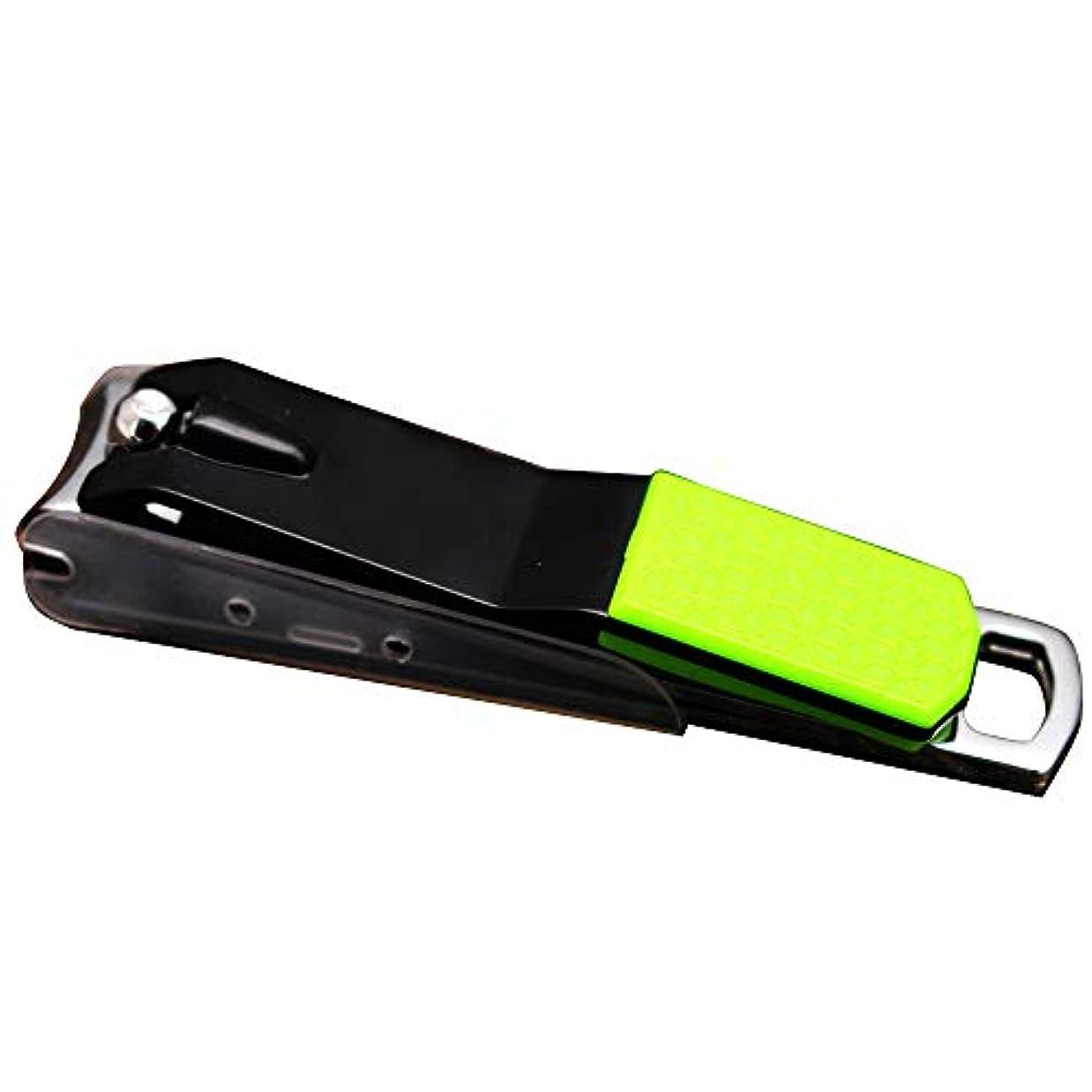 ストレージリズミカルなフレームワーク滑し止め爪切り飛び散り防止爪切り携帯便利男女兼用爪切り、ランダムな色