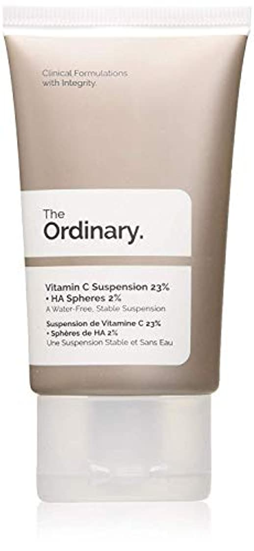 追跡犯人露骨なThe Ordinary Vitamin C Suspension 23% + HA Spheres 2%