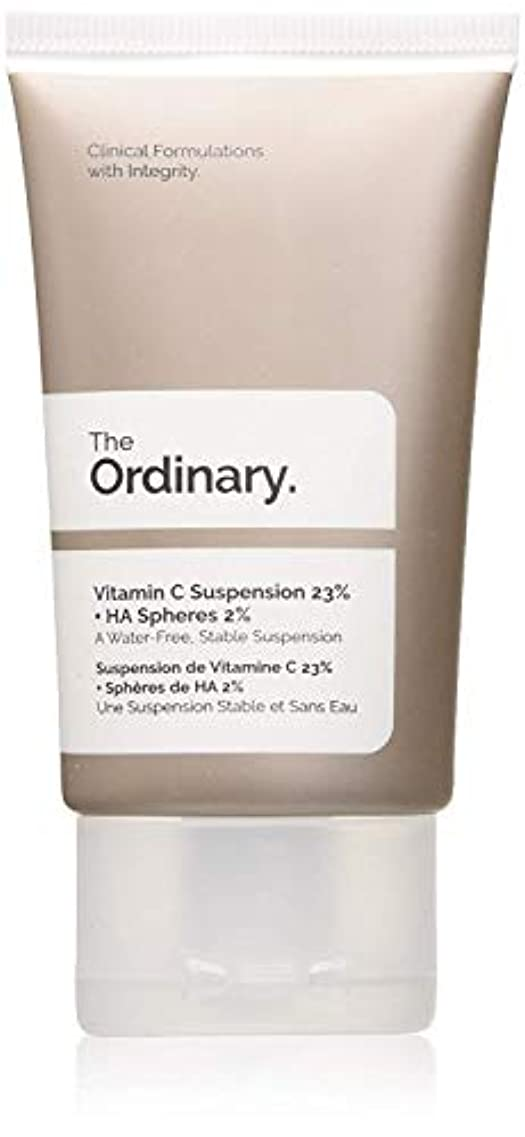 出席法律により水平The Ordinary Vitamin C Suspension 23% + HA Spheres 2%