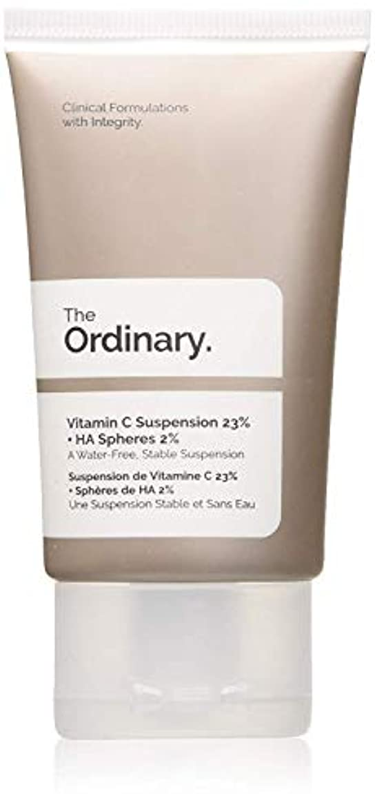 細分化するサンプルエステートThe Ordinary Vitamin C Suspension 23% + HA Spheres 2%