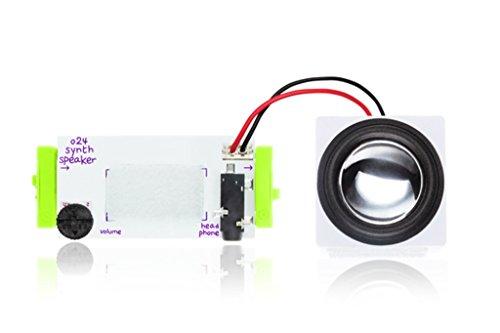 littleBits 電子工作 モジュール BITS MODULES O24 SYNTH SPEAKER シンセスピーカー