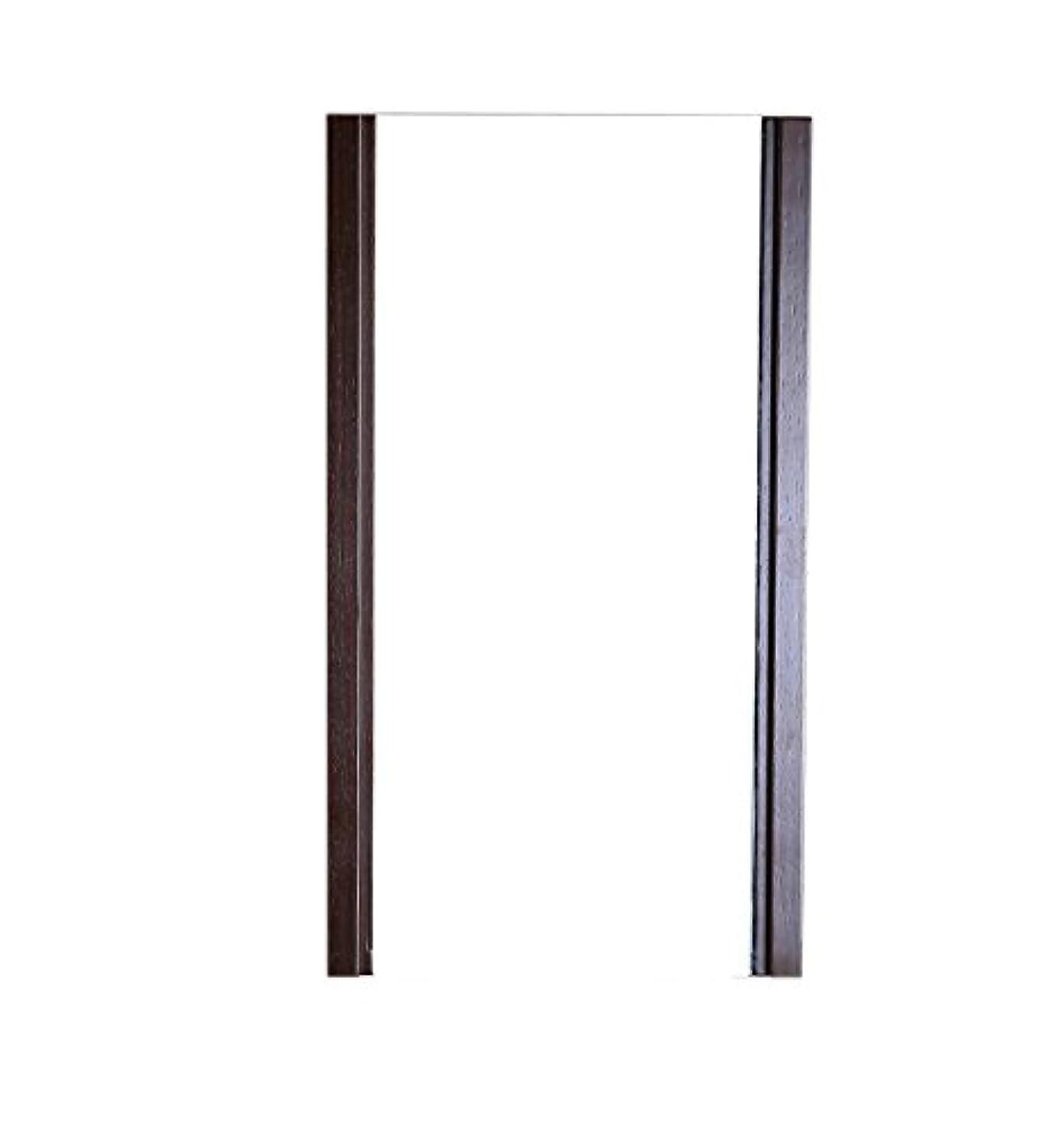 禁じるジャベスウィルソンペインBellaterra Home Wood Frame Mirror, Finished in Wenge Color by Bellaterra Home