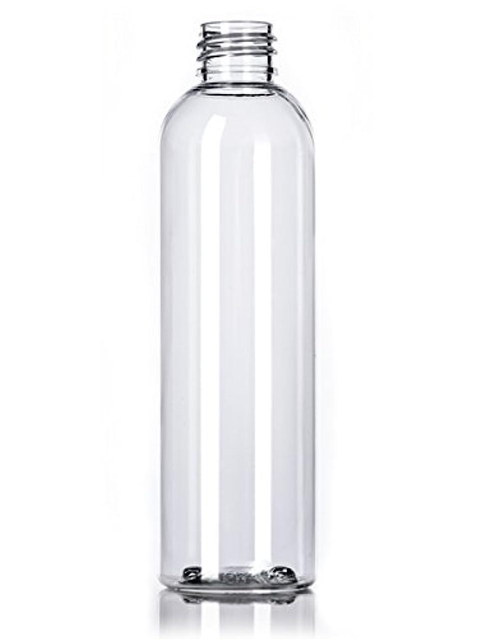 遵守する松模倣プラスチック(PET)ボトル/ディスクトップキャップ4オンス、クリア、4カウントワット