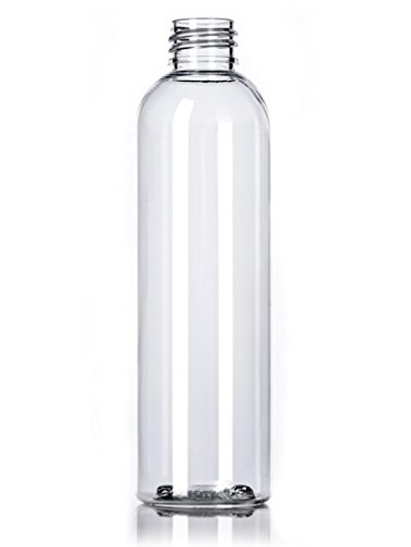 行為怒る拡張プラスチック(PET)ボトル/ディスクトップキャップ4オンス、クリア、4カウントワット