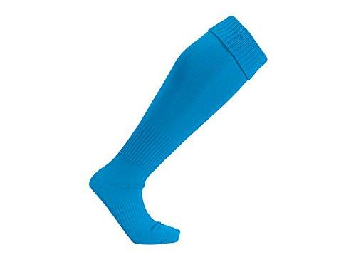 prime style 全11色 サッカーソックス サッカーストッキング 練習用・ユニホーム使用 フットサル  無地タイプ ターコイズ 22-24cm
