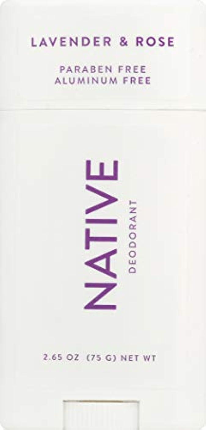書店マージンモルヒネネイティブ Native ラベンダー & ローズ ナチュラル デオドラント 2.65oz [並行輸入]