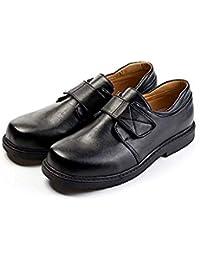[YFS] 子供靴 キッズシューズ 男の子 女の子 ジュニア フォーマル 履きやすい 入学式 卒業式 結婚式 発表会 七五三 冠婚葬祭 黒 白