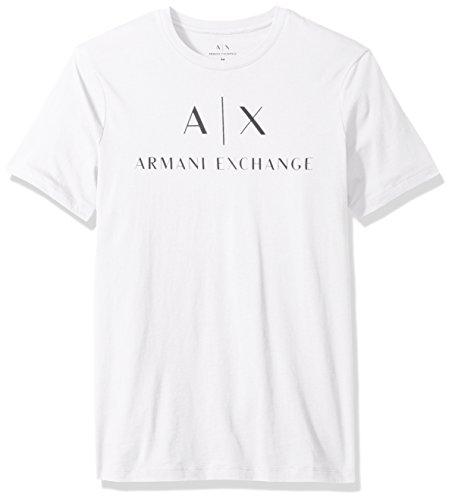 (AX アルマーニ エクスチェンジ)AX ARMANI EXCHANGE T-SHIRT 8NZTCJ/ZJH4Z 1100 WHITE S