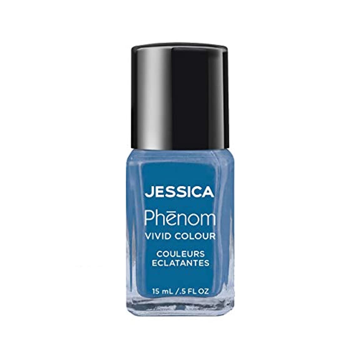 マリンなめる経済的Jessica Phenom Nail Lacquer - Fountain Bleu - 15ml/0.5oz