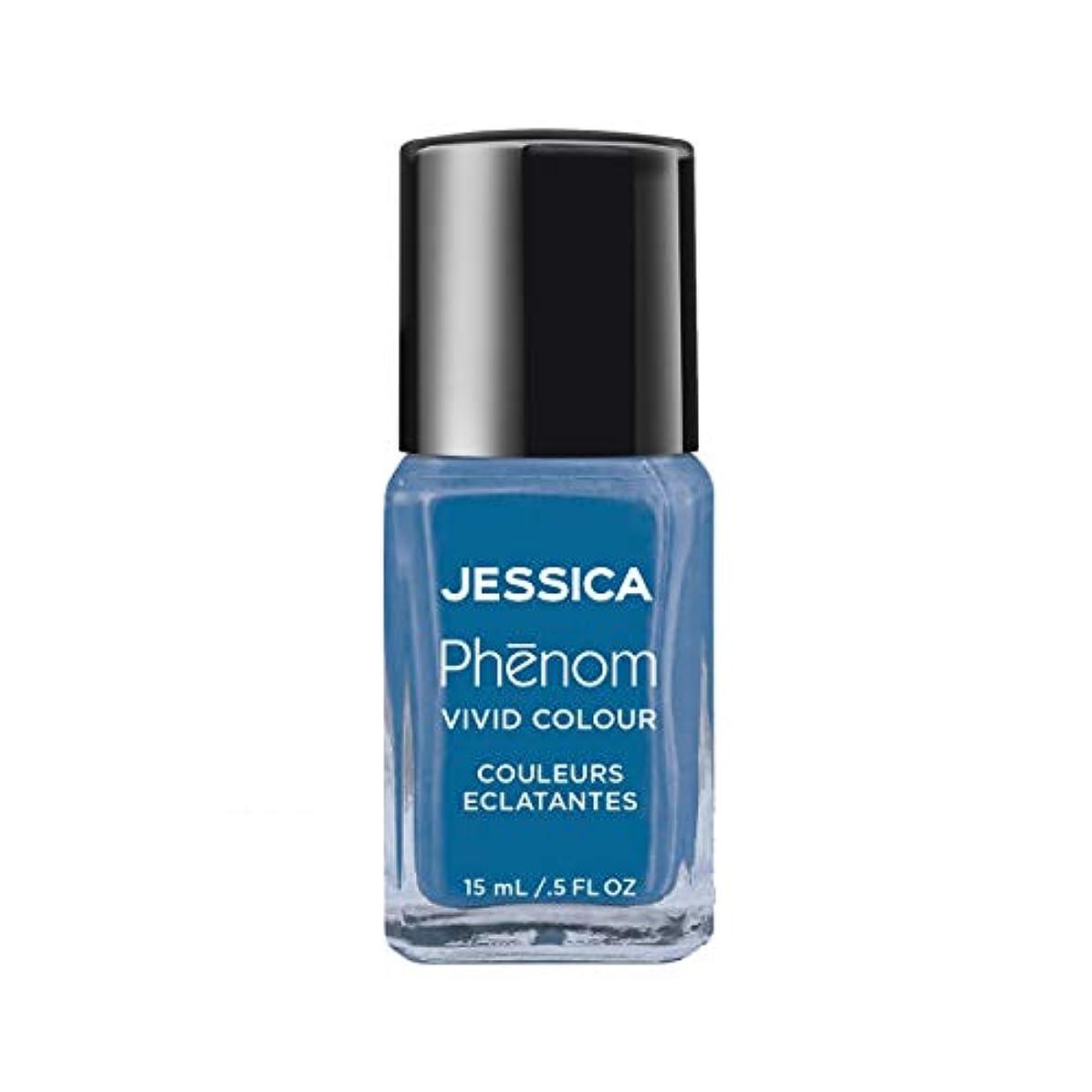 まばたき影響する計画的Jessica Phenom Nail Lacquer - Fountain Bleu - 15ml/0.5oz