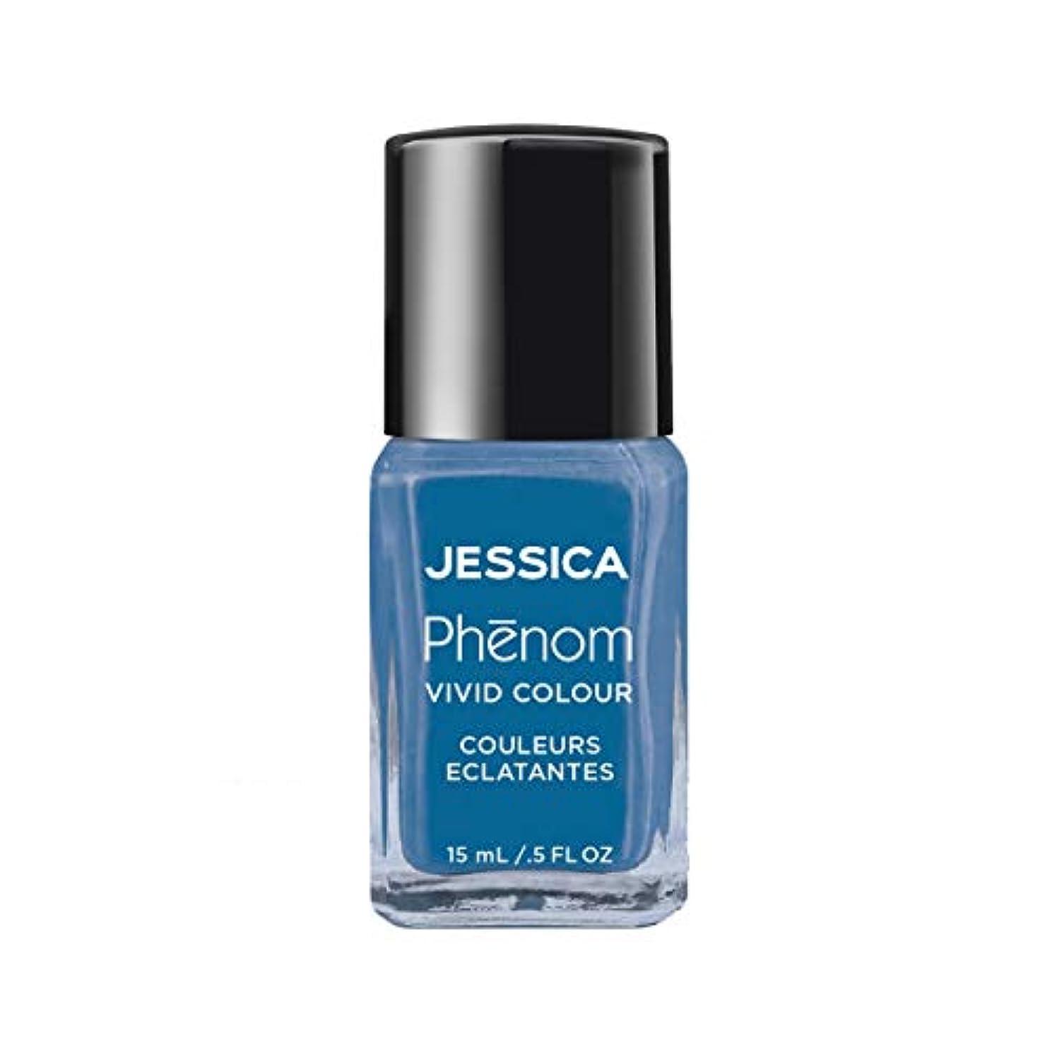 速記戸口支出Jessica Phenom Nail Lacquer - Fountain Bleu - 15ml/0.5oz