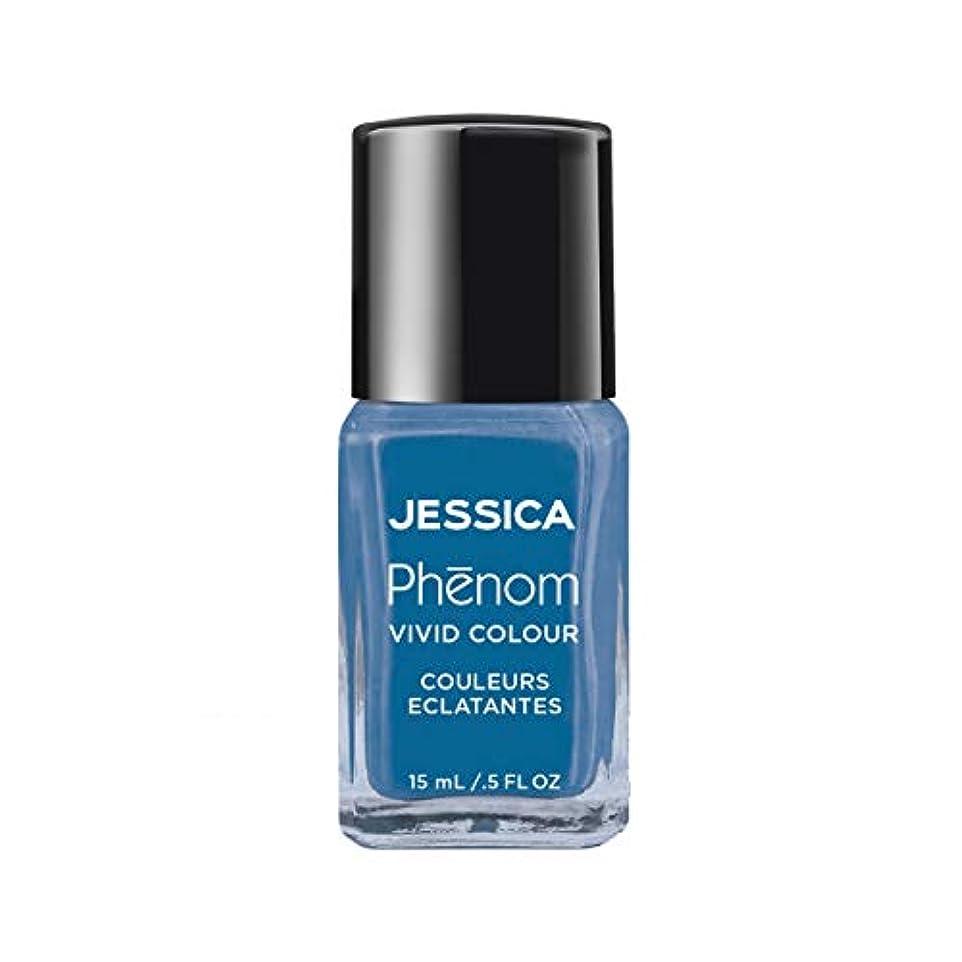 スキップ乱闘ブロックJessica Phenom Nail Lacquer - Fountain Bleu - 15ml/0.5oz