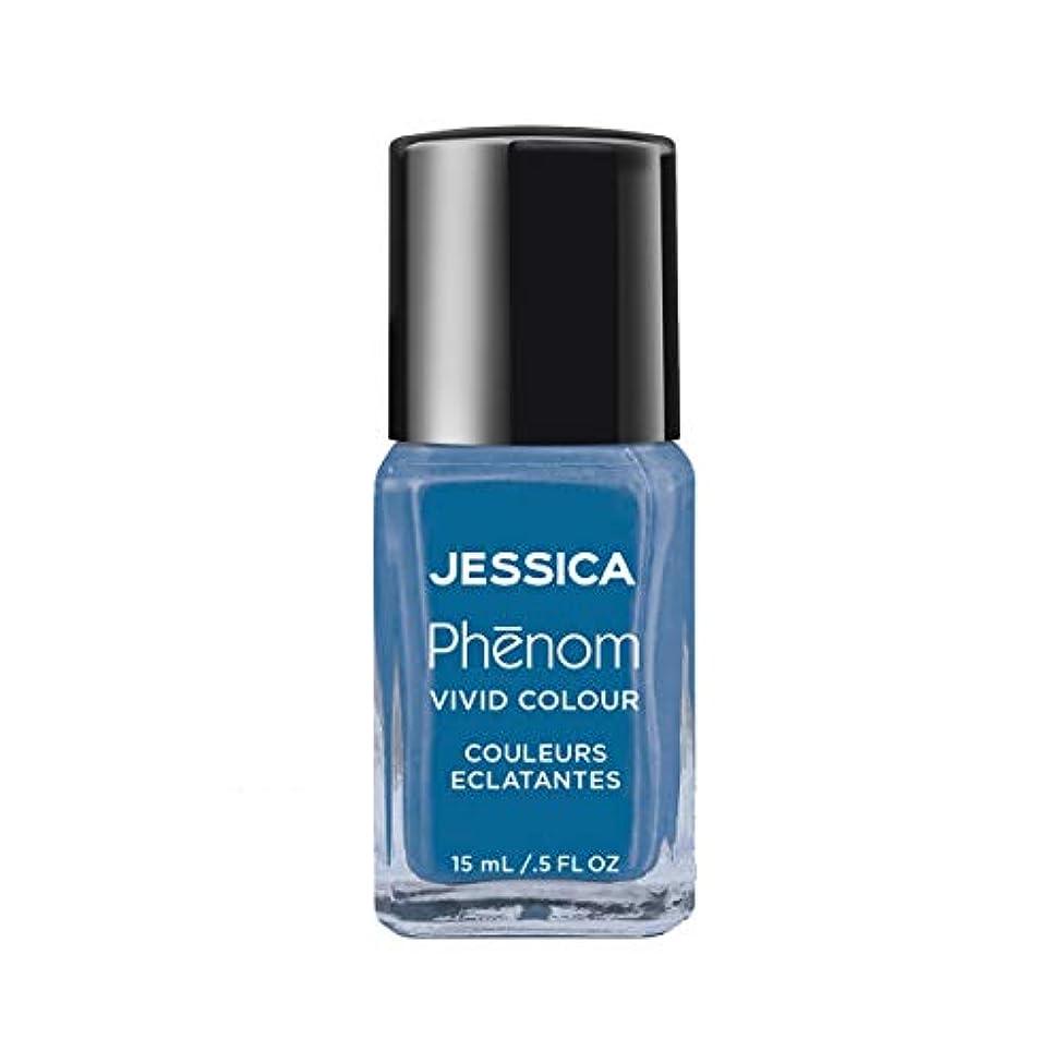 そばに群れもろいJessica Phenom Nail Lacquer - Fountain Bleu - 15ml/0.5oz