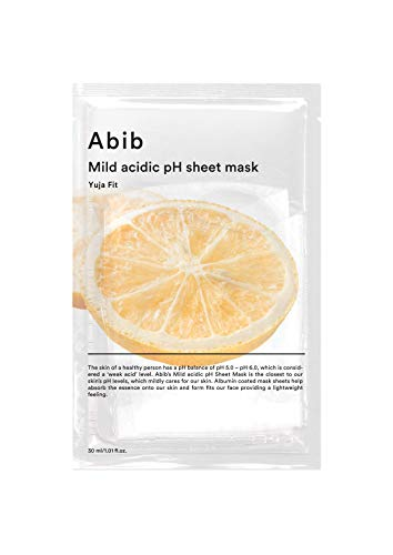 [Abib] アビブ弱酸性pHシートマスク柚子フィット 30mlx10枚 / ABIB MILD ACIDIC pH SHEET MASK YUJA FIT 30mlx10EA [日本国内発送]