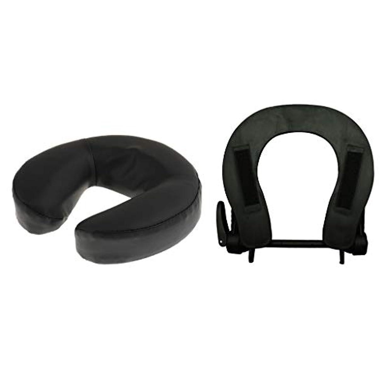 保護突破口メリーフェイスマット 顔マクラ マッサージ枕 顔枕 フェイスクレードル 調節可能 マッサージテーブル 汎用