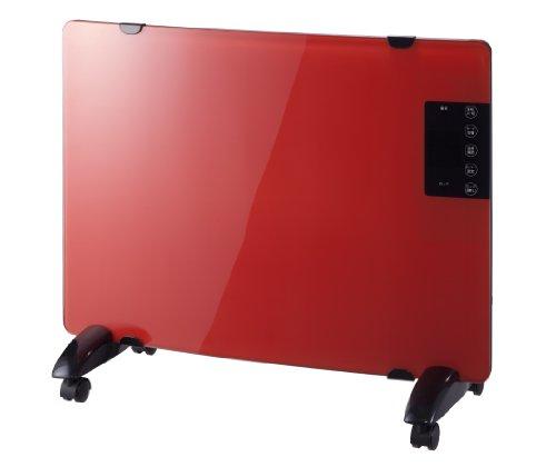 ガラスパネルヒーター レッド PH-1330RD