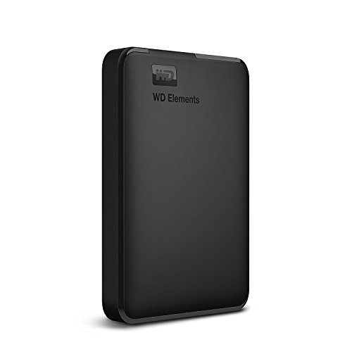 WD HDD ポータブルハードディスク 1TB WD Elements Portable WDBUZG0010BBK-WESN USB3.0/2年保証
