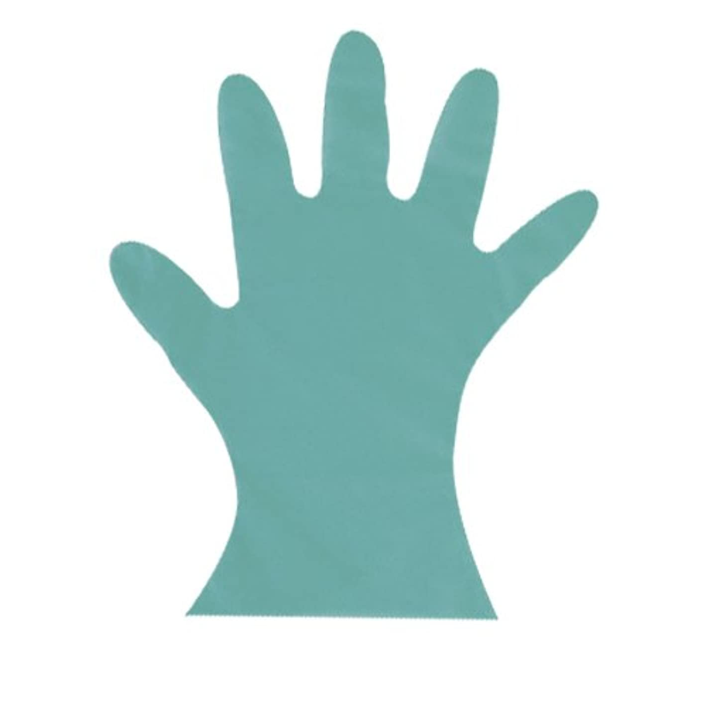 爆発する熱望する砂のカラーマイジャストグローブ #28 化粧箱(5本絞り)200枚入 グリー S 27μ