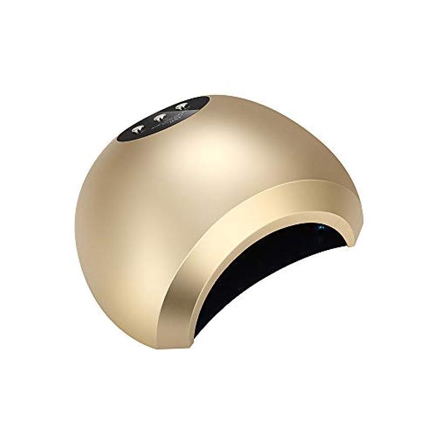 48Wインテリジェント誘導デュアル光源放熱無痛速乾性光線療法ランプネイルポリッシュグルーライト速乾性ドライヤーネイルポリッシュUVランプ