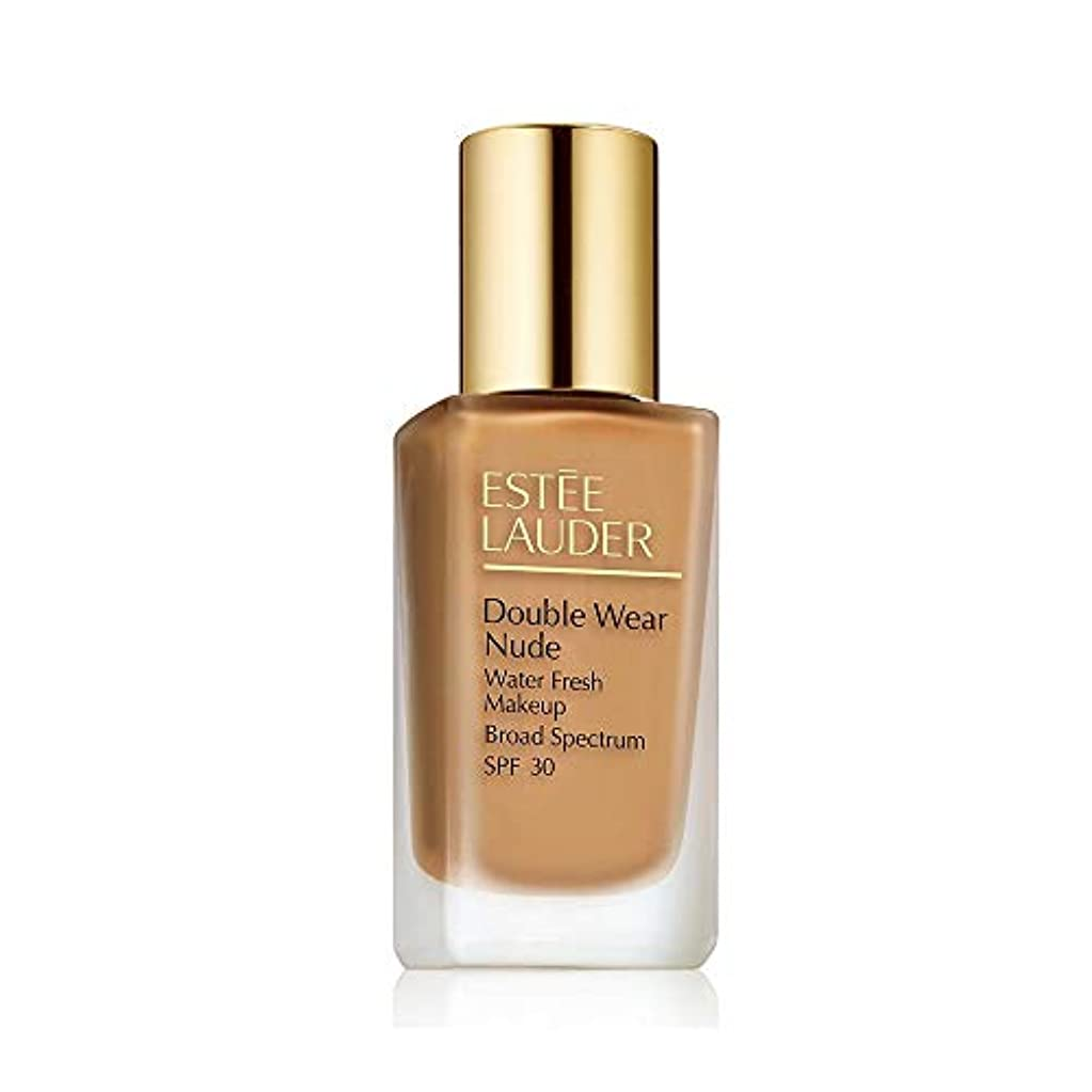 奪うヘビ長さエスティローダー Double Wear Nude Water Fresh Makeup SPF 30 - # 4N1 Shell Beige 30ml/1oz並行輸入品