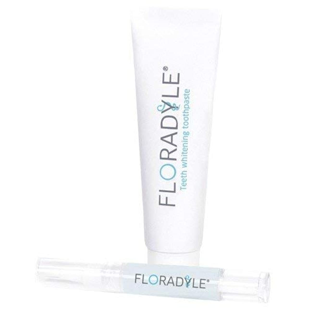 ミッション大陸むさぼり食うFloradyle(フロラダイル) ホワイトニングジェル&ホワイトニング歯磨き粉 セット