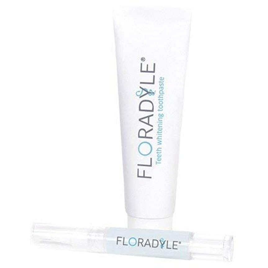 方言測定比べるFloradyle(フロラダイル) ホワイトニングジェル&ホワイトニング歯磨き粉 セット