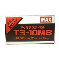 マックス ステープル T3-10MB 2万本