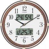 CITIZEN ネムリーナカレンダーリブ 電波掛け時計 4FYA05-006の画像