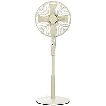 30cmレトロハイリビング扇風機フルリモコン式ホワイト