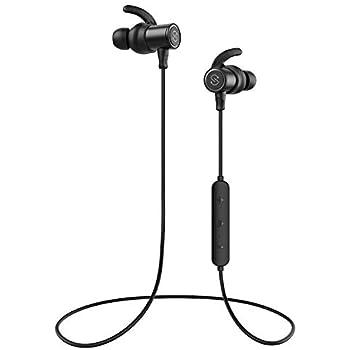 【IPX7完全防水 防汗進化】SoundPEATS(サウンドピーツ) Q30 Plus Bluetooth イヤホン 高音質 低音重視 8時間連続再生 apt-Xコーデック採用 人間工学設計 マグネット搭載 CVC6.0ノイズキャンセリング マイク付き ハンズフリー通話 ブルートゥース イヤホン ワイヤレス イヤホン Bluetooth ヘッドホン[メーカー1年保証] ブラック