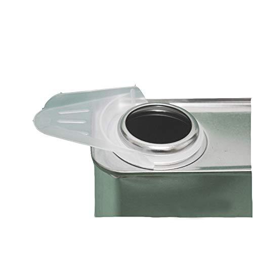 塗料をこぼさず安心!注ぎ口用ガイド【ポリ差し口/ベロ 40mm】FRP樹脂/補修
