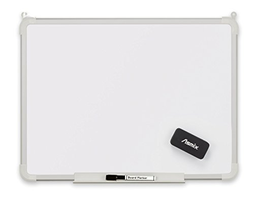 アスカ(Asmix) アルミフレーム  ホワイトボード タテヨコ両用 Lサイズ  AWB046