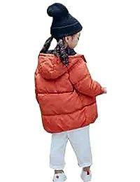 b031cfac38cd4  エージョン  ガールズ ダウンコート 冬服 子供服 無地 ロング キッズ フィット 可愛い トップス コート 中綿 防寒 長袖 可愛い キュート  女の子 男の子 ユニセックス…