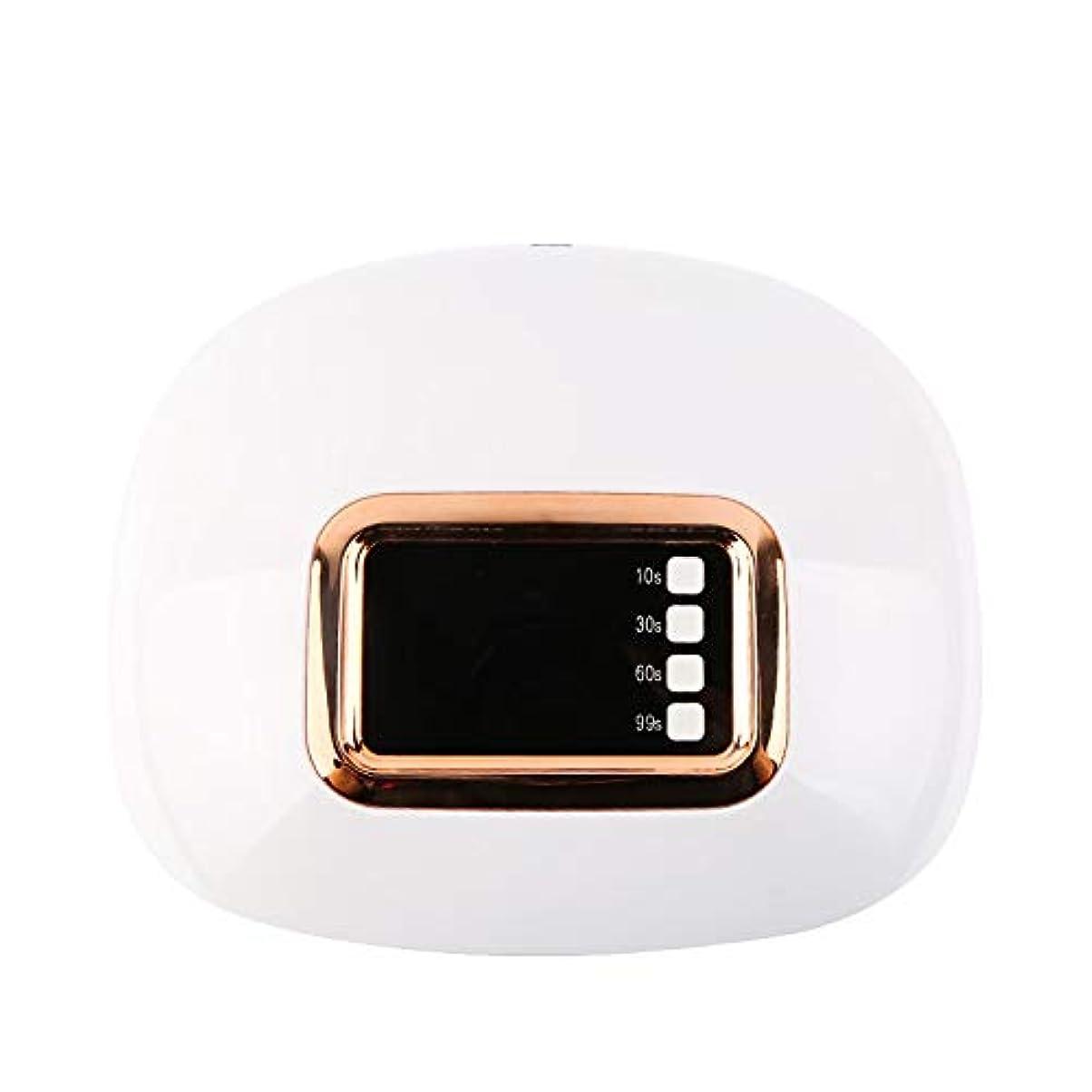 4つのタイマーおよびシェラックおよびゲルの釘のためのデジタル表示装置が付いている専門の紫外線およびLEDの釘ライトおよび釘のドライヤー
